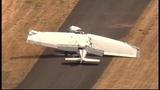 Small plane crashed at Renton Airport _7620307