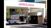 Click on this link for updates on the Oregon school shooting. An ambulance sits outside of Mercy Medical Hospital where victims were taken following a deadly shooting at Umpqua Community College in Roseburg, Ore., Thursday, Oct. 1, 2015. (AP Photo/Ryan Kang)
