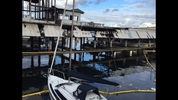 A building burned, four boats sank and seven others were damaged in a three-alarm marina fire on Lake Union early Monday. Read story here.