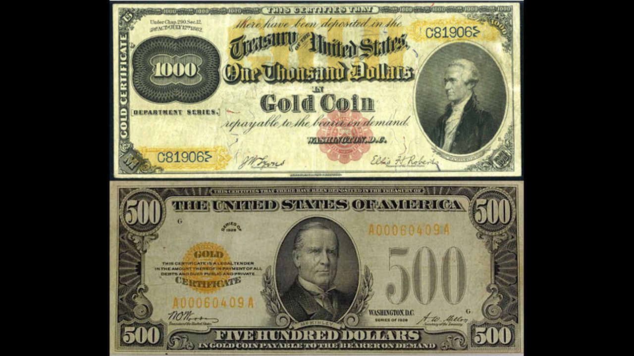 Gold Certificates Todays Treasure Or Trash Kiro Tv