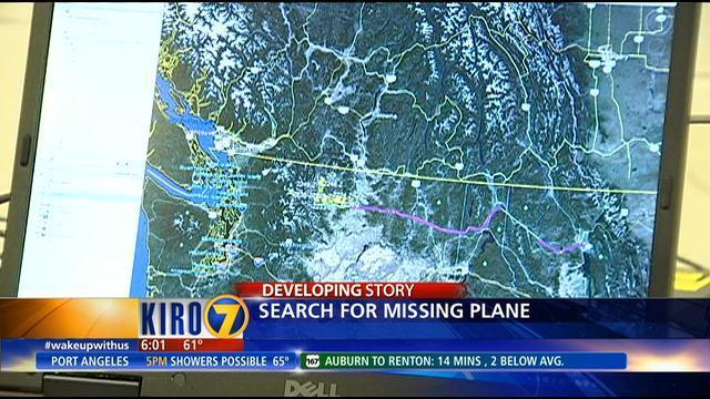 VIDEO: Missing plane may be somewhere in Cascades