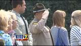 VIDEO: Somber, beautiful ceremony for fallen firefighters