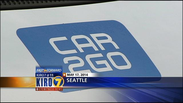 Car2go Expanding Using More Seattle Parking Kiro Tv