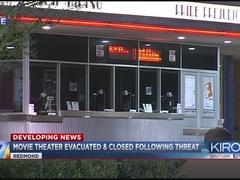 Police: Bomb threat found in Redmond movie theater bathroom