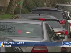 Seattle residents say drivers treating streets like free park and ride