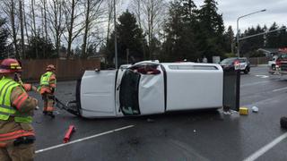Dangerous crash in Federal Way