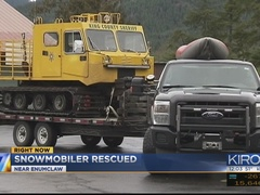 Missing snowmobiler rescued outside Enumclaw