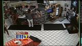 VIDEO: Large group of teens caught on camera storming gas station