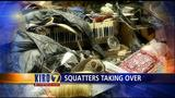 VIDEO: Squatters take over in North Seattle