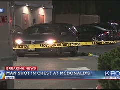 Police look for suspect after shooting in Kent