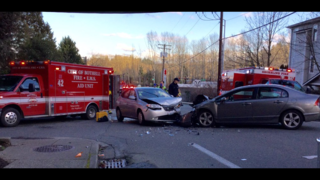 Front-end collision causes injury, delays near Bothell