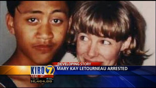 Mary Kay Letourneau was arrested and jailed for seven years for having sex with student Vili Fualaau