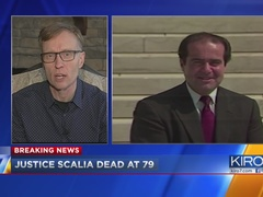 Former Washington Attorney General recalls appearing before Justice Scalia
