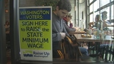 VIDEO: Raise Up Washington supporters hit the streets, collect signatures