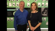 Dr. Jim Olson with KIRO 7's Michelle Millman. Michelle shares Jim's story on KIRO 7 Profiles on March 17 at 10:30 p.m.