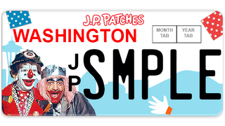 J.P. Patches license plate one step closer to reality