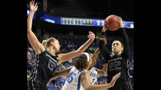 Washington women beat Kentucky 85-72 to reach Elite Eight