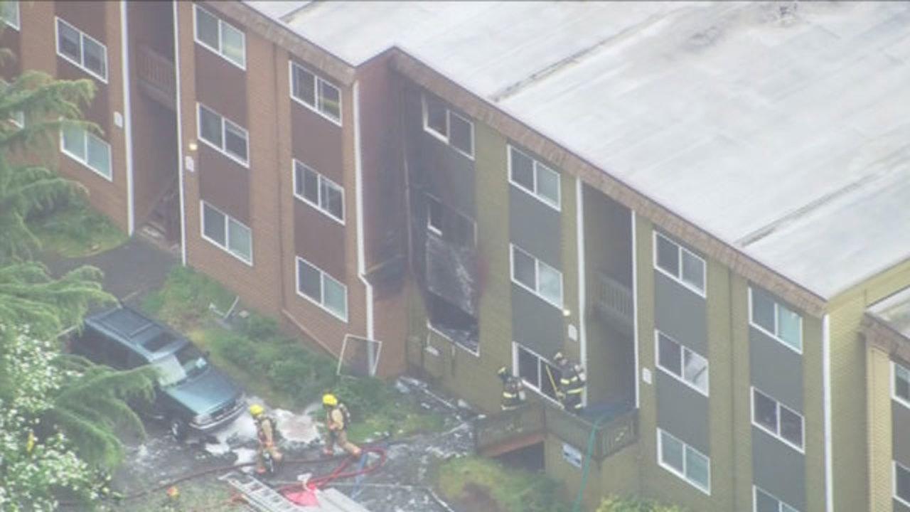 Crews Fight Fire At U0027high Risku0027 Renton Apartments   KIRO TV