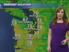 KIRO 7 PinPoint Weather for Sunday evening