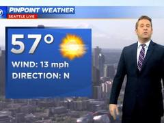 KIRO 7 PinPoint Weather video for Fri morning