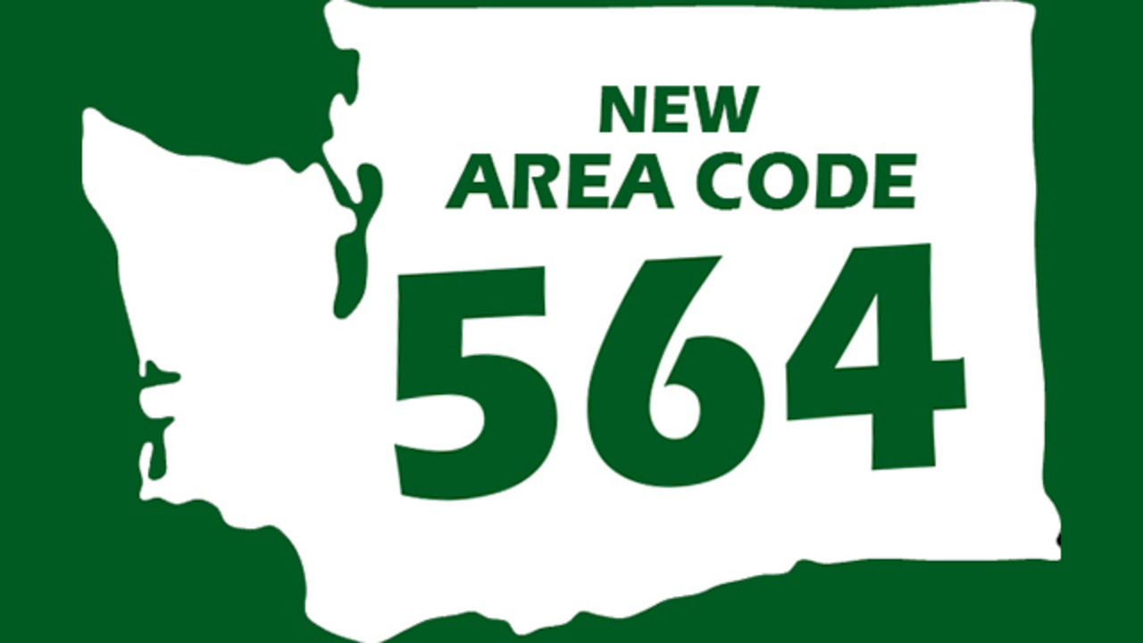 New area code coming to western washington kiro tv sciox Gallery
