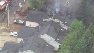 Child died from smoke inhalation in Tacoma duplex fire