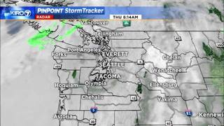 KIRO 7 PinPoint Weather video for Thurs.morning