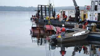 Body, vehicle of WSDOT worker recovered from Hood Canal