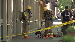 Leak causes hazmat response, evacuations in downtown Seattle