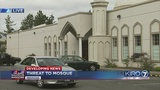 VIDEO: Hundreds inside mosque when threat made