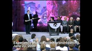 VIDEO: Experience Music Project opens, June 23, 2000