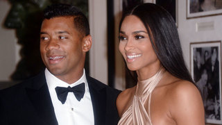 Russell Wilson and Ciara marry, share first wedding photo