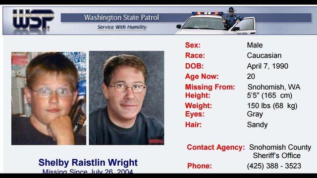 PHOTOS: Washington state's missing children (July 27 update