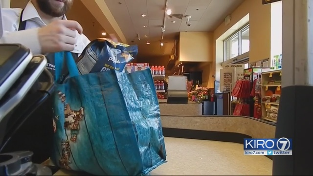 Is Seattle S Ban On Plastic Bags Working Kiro Tv