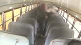 VIDEO: Driver seen vaping on school bus