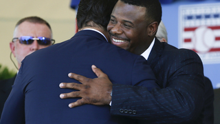 PHOTOS: Ken Griffey Jr. enters the Baseball Hall of Fame as a Seattle Mariner