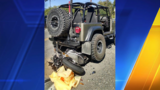 Motorcyclist rounding curve dies after crashing into Jeep