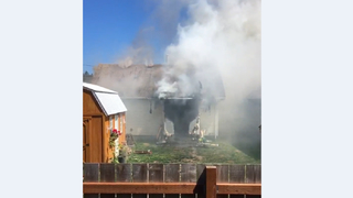 Home burns in Renton Sunday afternoon