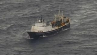 Coast Guard: 46 people rescued from sinking vessel off Alaska