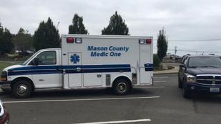 Ambulance stolen from Shelton hospital