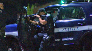 Woman shot, SWAT team responds in North Seattle