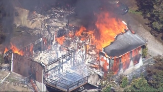 Home destroyed in North Bend fire