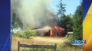 Bothell woman burned in fire