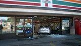 Car drives into Edmonds 7-Eleven