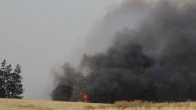 Spokane Complex Fire Map.Large Wildfires Force Mandatory Evacuations Near Spokane Kiro Tv