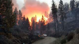 Fires prompt emergency declaration for Washington counties