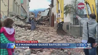 "Strong quake rattles central Italy: ""The town isn"