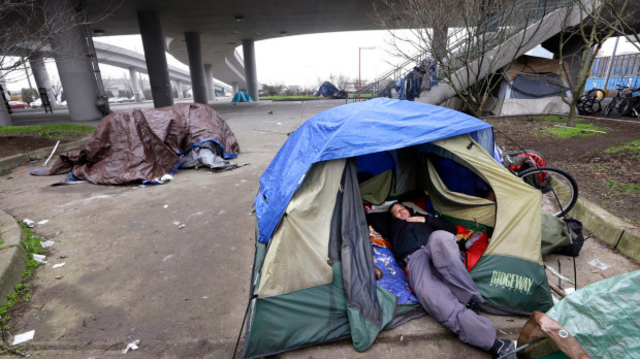 Advocates Draft Homeless Ordinance To Allow Camping In