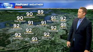 Kiro 7 Pinpoint Weather for Thurs. Morning