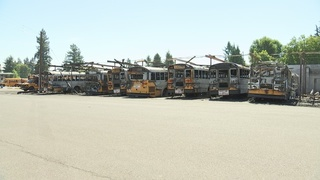 Routes impacted after 26 buses burn in fire